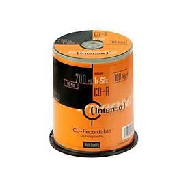 Intenso - CD-R x 100 - 700 MB - Speichermedium