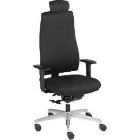 Interstuhl Bürostuhl GOAL 322G, Synchronmechanik, mit Armlehnen, Sitzzeit 8+ Stunden, mit Kopfstütze