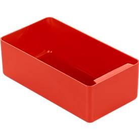 Inzetbakjes EK 603, 180 x 96 x 60 mm,rood, 20 stuks