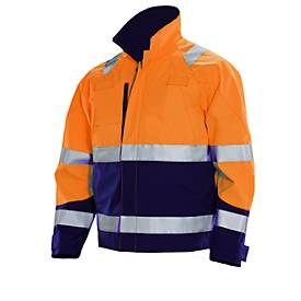 Jacke HV orange/marine XXXXL