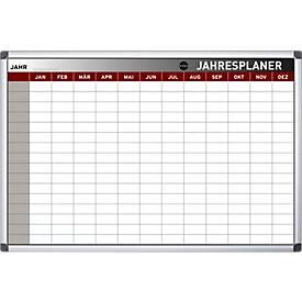 Jahresplaner, 13 Planungsmodule, 208 Einzelfelder, B 900 x H 600 mm