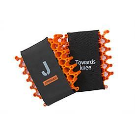 Jobman Kniepolster GP Advanced orange/grau One size