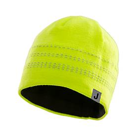 Jobman Knitted hat Yellow One size