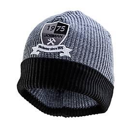 Jobman Mutze grau/schwarz One size