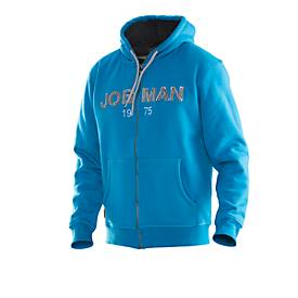 Jobman Vintage Hoodie blau/grau 3XL