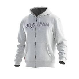 Jobman Vintage Hoodie grau/grau 3XL