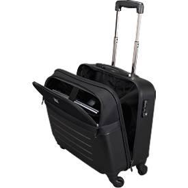 JSA Laptoptrolley, mit Tragegriff und Rollen, mit Laptopfach, ABS-Kunststoff