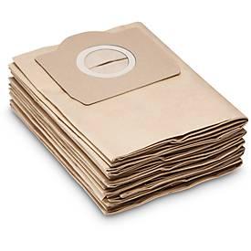 KÄRCHER papieren filterzakken voor stofzuiger T 12/1, pak van 10 stuks