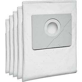 Kärcher Vlies Filtertüte, passend zu Nass-/Trocksauger NT 20/1 Ap Te, 5 Stück
