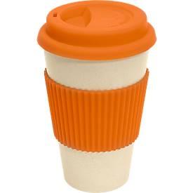 Kaffeebecher Eco Cup, orange
