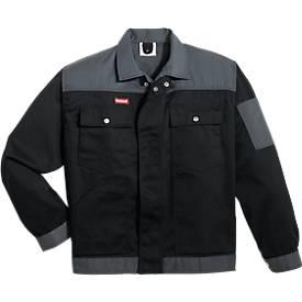 KANSAS® Bundjacke Color, schwarz/grau
