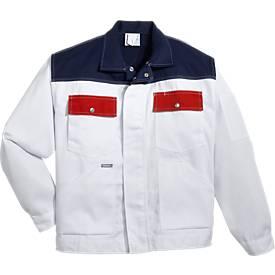 KANSAS® Maler-Bundjacke Color, weiß