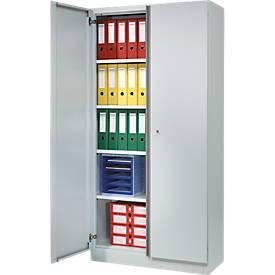 Kantoorkast BS-P 2409, lichtgrijs/middelgrijs, b 950 mm