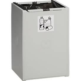 Karat 2000 pre-selectieve afvalbak, 60 liter, 1 bak