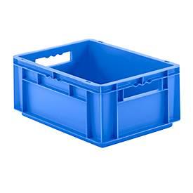 Kasten im EURO-Maß EF 4170, ohne Deckel, 15,7 l, blau