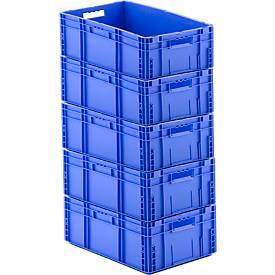 Kasten im EURO-Maß MF 6220, 41,6 l, 4 + 1 GRATIS, blau