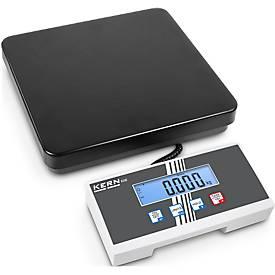 Kern en Sohn EOE pakketweegschalen, inclusief display, weegvermogen 15 kg.