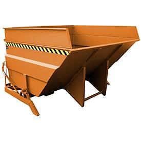 Kiepbak BKC 400, oranje, kiepcontainer