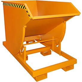 Kiepbak BKM 100, oranje, kiepcontainer