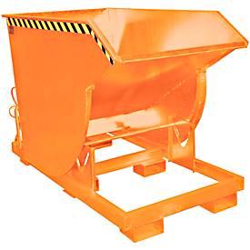 Kiepbak BKM 150, oranje geschilderd