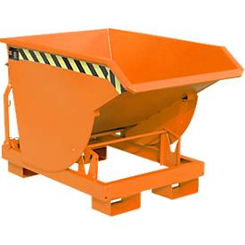Kiepbak BKM 30, oranje, kiepcontainer
