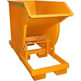 Kiepbak BKM 75, oranje, kiepcontainer