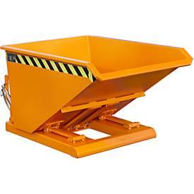 Kiepbak NK 30, oranje, kiepcontainer