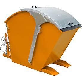 Kiepbak RD 750, oranje, kiepcontainer