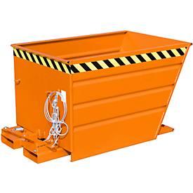 Kiepcontainer VG 550, oranje