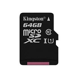 Kingston Canvas Select - Flash-Speicherkarte - 64 GB - microSDXC UHS-I