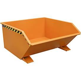 Kippbehälter Typ GU, 750 Liter, orange