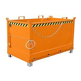 Klappbodenbehälter FB 1500 mit Gummifederung