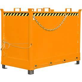Klappbodenbehälter FB 2000 mit Gummifederung
