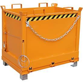 Klappbodenbehälter FB 750 mit Gummifederung