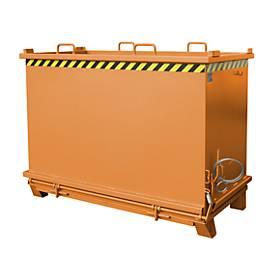 Klappbodenbehälter SB 2000, orange lackiert