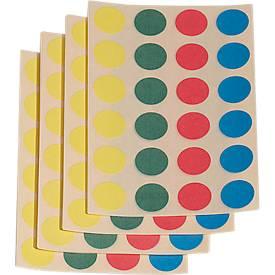 Klebepunkte, 4 Farben