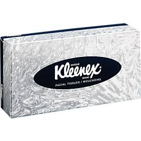Kleenex® doos papieren zakdoekjes, 100 vellen