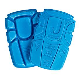 Kniepolster blau