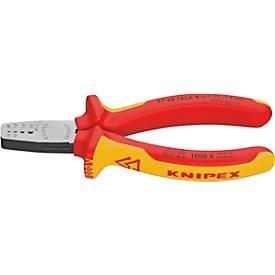 KNIPEX VDE-Aderendhülsenzange 145 mm, 2-Komponenten-Handgriffe