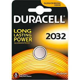 Knopfzelle DURACELL® CR 2032