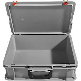 Koffer van polypropeen, grijs