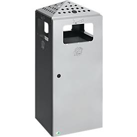Kombi-Ascher Design H92 für Außeneinsatz