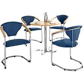 Komplett-Angebot Tisch Lena mit 4 Schwingern Kelly