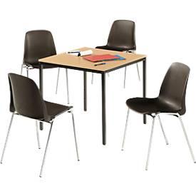 Komplett-Angebot Tisch und 4 Stühle
