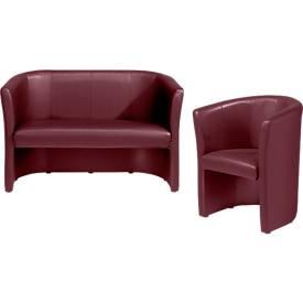 Komplettangebot Club Sessel + Zweisitzer