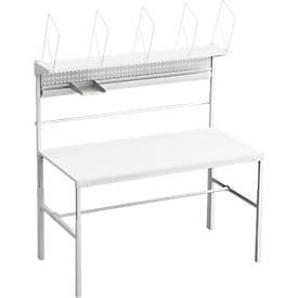 Komplettangebot Packtisch TPB, Breite 1500 o. 1800 mm, höhenverstellbar, Last 30 kg
