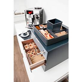 Komplettset COFFEE POINT, Bewirtungsbedarf, aus Kunststoff, 5-teilig
