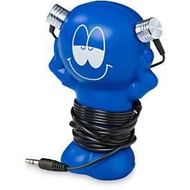Kopfhörer Best Friend, inkl. Anti-Stress Knautschhalterung, Werbedruck 20 x 15 mm, div. Farben