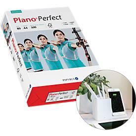 Kopieerpapier Papyrus Plano® Perfect, DIN A4, 80 g/m², helder wit, 1 doosje = 20 x 500 vellen