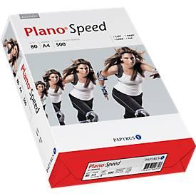 Kopieerpapier Papyrus Plano® Snelheid, DIN A4, 80 g/m², wit, 1 doosje = 5 x 500 vellen